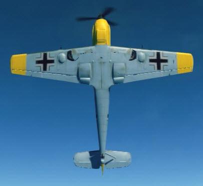 Bf109E3 bottom