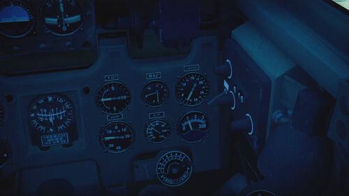 A6M2N cokpit right