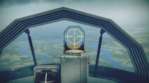 Me163B cokpit sight