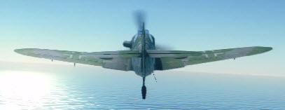 Bf109G10 back