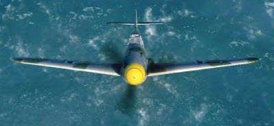 Bf109F4 front