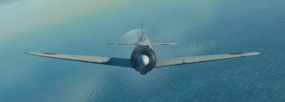 A6M2 front