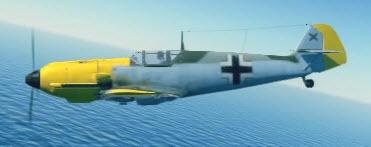 Bf109E3 left