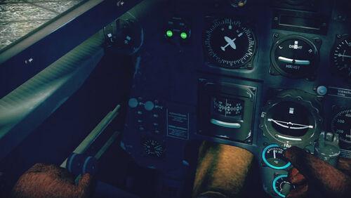 Bf110C4 cokpit left