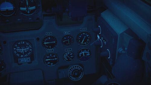 A6M2 cokpit right