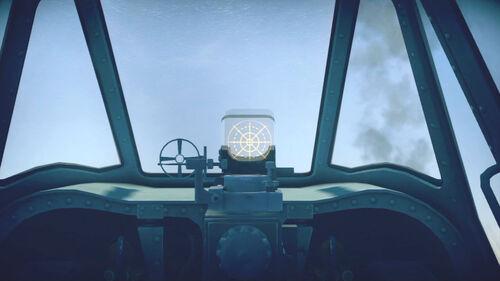 A6M2 cokpit sight