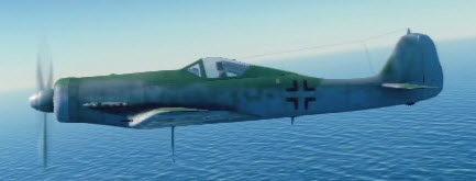 Fw190D12 left