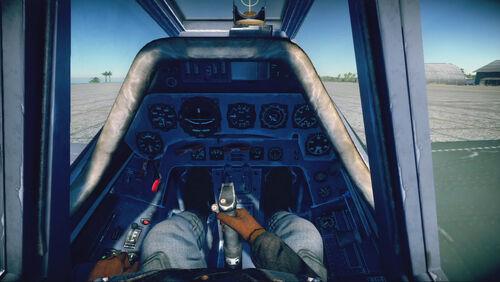 Fw190F8 cokpit default
