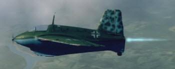 Me163B left