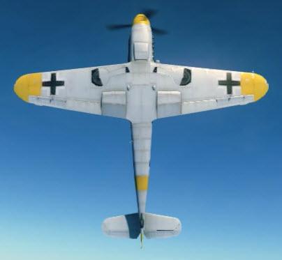 Bf109F4 bottom