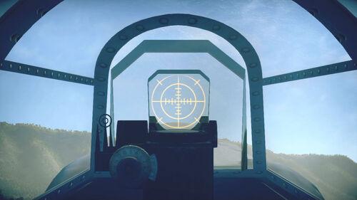 La5FN cokpit sight