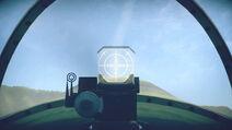 LaGG335 cokpit sight