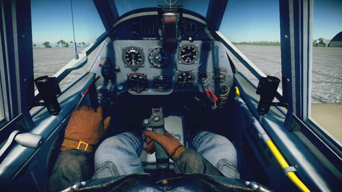 Bf109F4Tp cokpit default