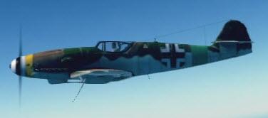 Bf109K4 left