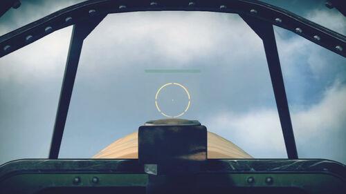 MustangMkIA cokpit sight
