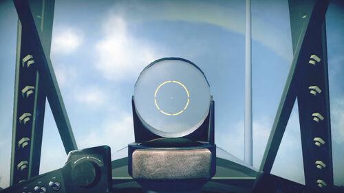 F4U1d cokpit sight