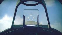 SpitfireMkII cokpit sight