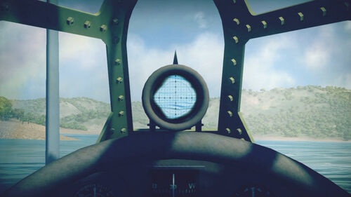 OS2U3 cokpit sight