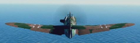 Bf109K4 back