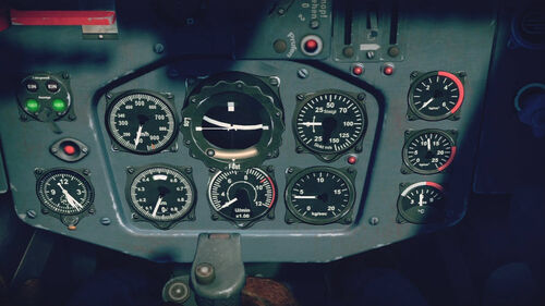 Me163B cokpit up