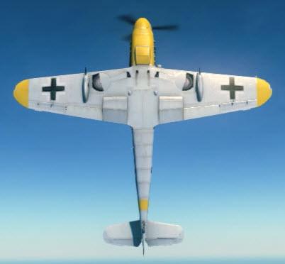 Bf109G6 bottom