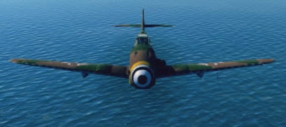 Bf109K4 front