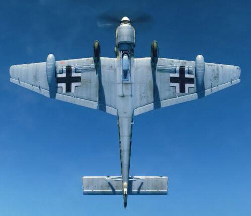 Ju87D bottom