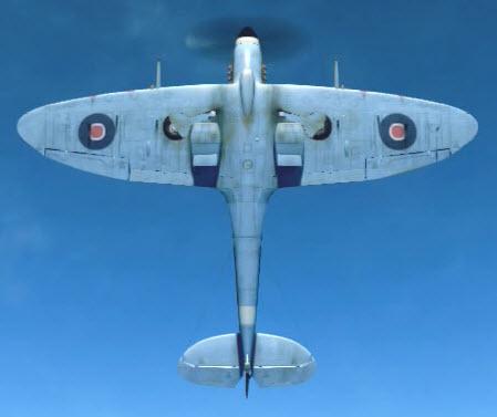SpitfireMkIX bottom