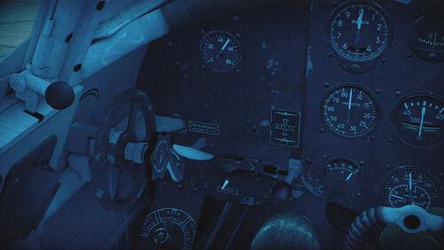 Yak1B cokpit left