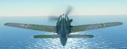 Fw190D12 back