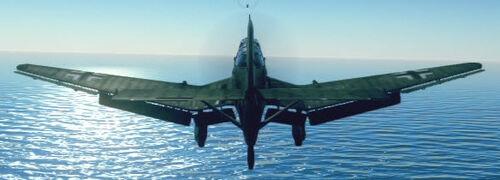 Ju87D3 back