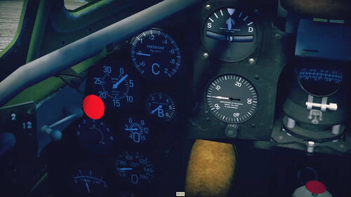 MC200S7 cokpit left