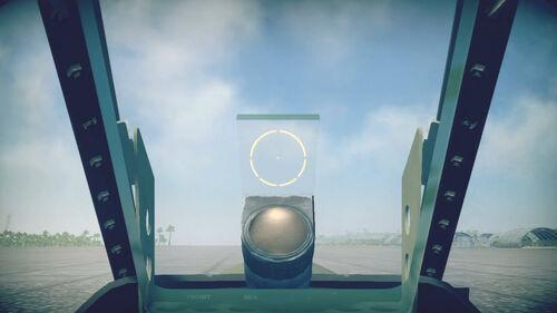 P38G cokpit sight