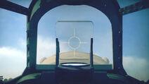 SpitfireMkXVI cokpit sight