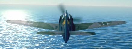 Fw190A5 back