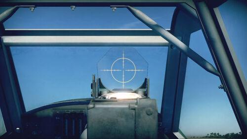 Bf109G10 cokpit sight