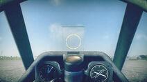 P39Q5 cokpit sight