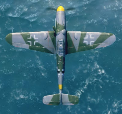 Bf109G6 top