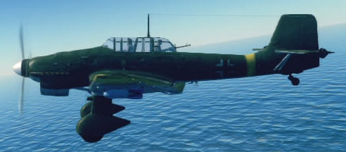 Ju87B2 left