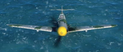 Bf109G6 front