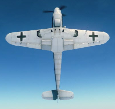 Bf109G10 bottom