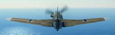 Bf109G2 back