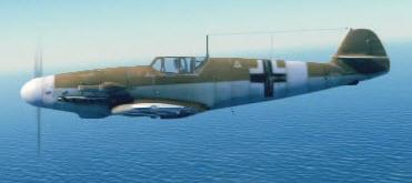 Bf109G2 left