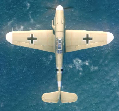 Bf109F4Tp top