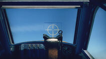 Bf109G2 cokpit sight