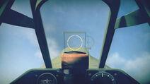 P40E1 cokpit sight