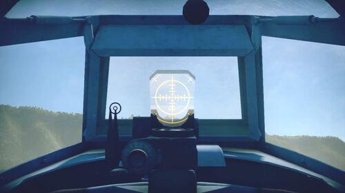 Yak1B cokpit sight