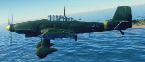 Ju87D3 left