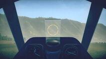 P39Q15 cokpit sight