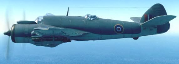 BeaufighterMkX left
